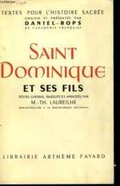 Saint Dominique Et Ses Fils. - Couverture - Format classique