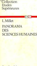 Panorama Des Sciences Humaines - Couverture - Format classique