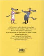 La galette à l'escampette - 4ème de couverture - Format classique