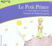 Le petit prince cd - Intérieur - Format classique