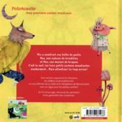 Les trois petits cochons moustachus - 4ème de couverture - Format classique