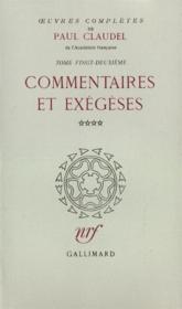 Oeuvres complètes t.22 - Couverture - Format classique