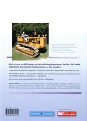 Les tracteurs à chenilles de nos campagnes - 4ème de couverture - Format classique