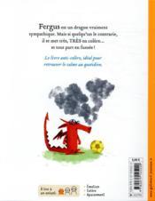 Fergus est furieux ! - 4ème de couverture - Format classique