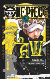 One Piece - roman ; novel law - Couverture - Format classique