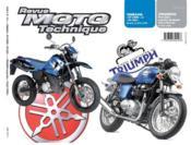 Rmt 141.1 Yamaha Dt125re & X/Triumph T.Types 790-865 - Couverture - Format classique