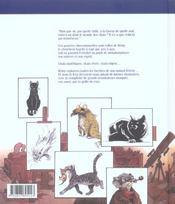 Entre chats - 4ème de couverture - Format classique