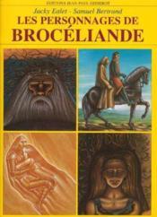 Les personnages de broceliande - Couverture - Format classique