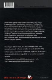 Dernières nouvelles de Noëla Duarte - 4ème de couverture - Format classique