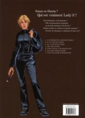 Lady S. T.7 ; une seconde d'éternité - 4ème de couverture - Format classique