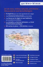 Bretagne nord - 4ème de couverture - Format classique
