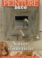 Nature d'intérieur ; peinture déco - Couverture - Format classique