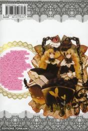 Grace door t.2 - 4ème de couverture - Format classique