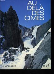 Au Dela Des Cimes - Couverture - Format classique