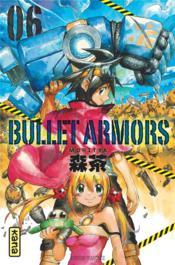 Bullet armor t.6 - Couverture - Format classique