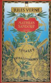 Mathias Sandorf - Couverture - Format classique