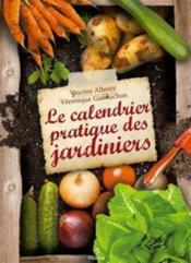 Le calendrier pratique des jardiniers - Couverture - Format classique