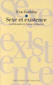 Sexe et existence - Couverture - Format classique