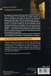 Trafiquants & associés - 4ème de couverture - Format classique