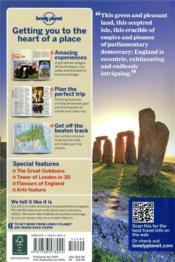 England (10e édition) - 4ème de couverture - Format classique