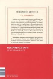 Les funambules - 4ème de couverture - Format classique