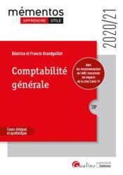 Comptabilité générale (édition 2020/2021) - Couverture - Format classique