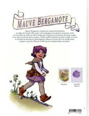 Mauve Bergamote T.1 ; bienvenue à l'herboristerie - 4ème de couverture - Format classique