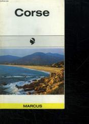 Corse Guides Marcus - Couverture - Format classique