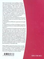 Introduction A La Pensee Politique Classique - 4ème de couverture - Format classique