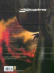 Les Technopères T.6 ; les secrets du Techno-Vatican - 4ème de couverture - Format classique