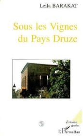 Sous les vignes du pays Druze - Couverture - Format classique