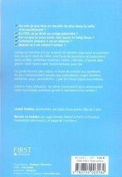 Papa débutant, mode d'emploi (4e édition) - 4ème de couverture - Format classique
