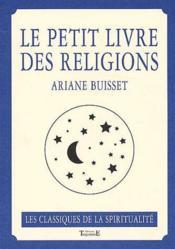 Le petit livre des religions - Couverture - Format classique