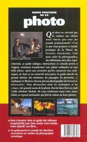 Le Guide Pratique De La Photo ; Edition 2001 - 4ème de couverture - Format classique