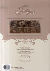 Les aventures de Tom Sawyer T.1 ; Becky Thatcher - 4ème de couverture - Format classique