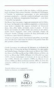 Dictionnaire de mythologie germanique ; odin, thor, siegfried et cie - 4ème de couverture - Format classique