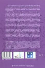 La loire et l'aigle les foreziens face a l'etat napoleonien - 4ème de couverture - Format classique