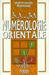 Numérologie orientale - Couverture - Format classique