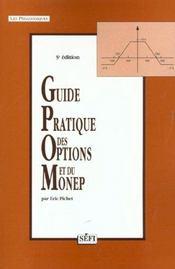 Guide pratique des options et du monep 5eme edition - Intérieur - Format classique
