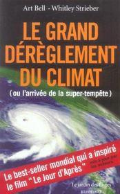 Le grand dérèglement du climat ou l'arrivée de la super-tempête - Intérieur - Format classique