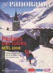 Avent 2008 Prieres Des Jours Hs Pano - Couverture - Format classique