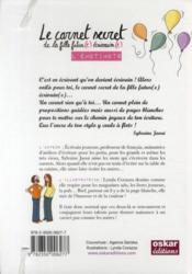 L'émotimots ; le carnet secret de la fille futur(e) écrivain(e) - 4ème de couverture - Format classique