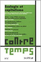 CONTRE TEMPS ; REVUE DE CRITIQUE COMMUNISTE N.12 ; écologie et capitalisme - Couverture - Format classique