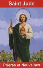 Saint Jude ; prières et neuvaines - Couverture - Format classique