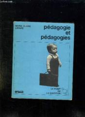 Pedagogique Et Pedagogies. - Couverture - Format classique