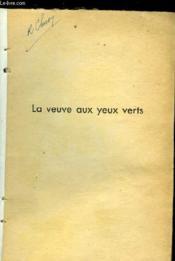 La Veuve Aux Yeux Verts - Couverture - Format classique