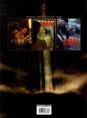 Sarah t.3 ; les démons de Little Valley - 4ème de couverture - Format classique