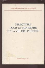 Directoire Pour Le Ministere Et La Vie Des Pretres - Couverture - Format classique