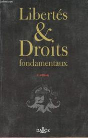 Libertés Et Droits Fondamentaux - Couverture - Format classique