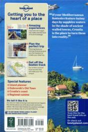 Croatia (10e édition) - 4ème de couverture - Format classique